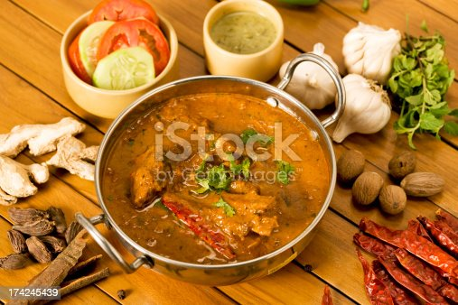Butter Chicken with Spices