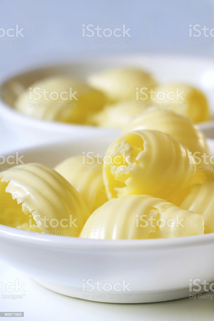 Butter Curls royalty-free stock photo