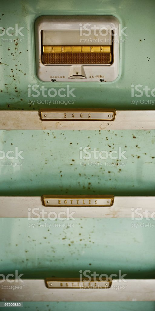 Butter, Eggs and Bottles royalty-free stock photo