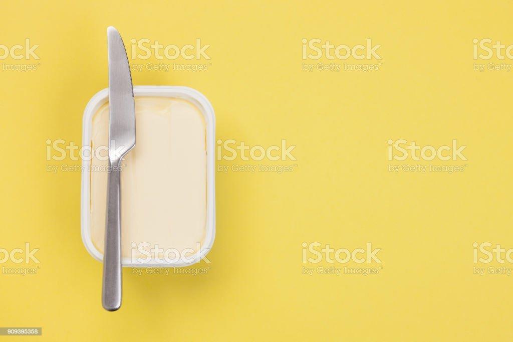 Boter - geïsoleerd - Royalty-free Boter Stockfoto