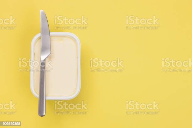 Boter Geïsoleerd Stockfoto en meer beelden van Boter
