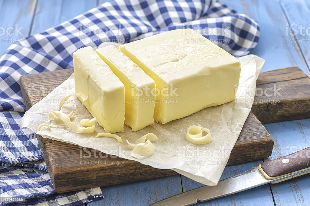 Butter stock photo