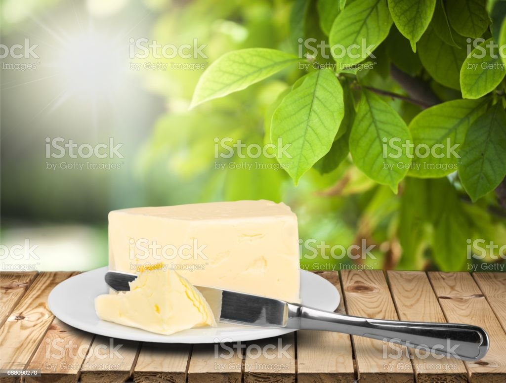 Butter. stock photo
