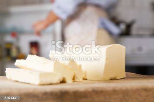 istock Butter slices 184943322
