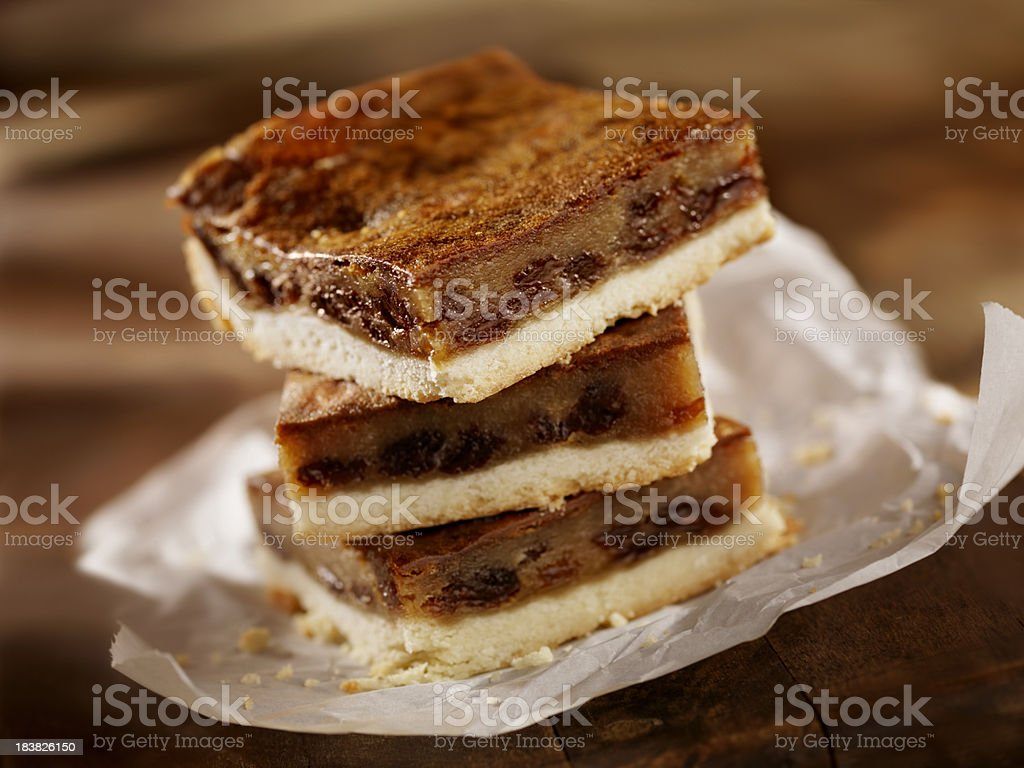 Butter Tart Squares royalty-free stock photo