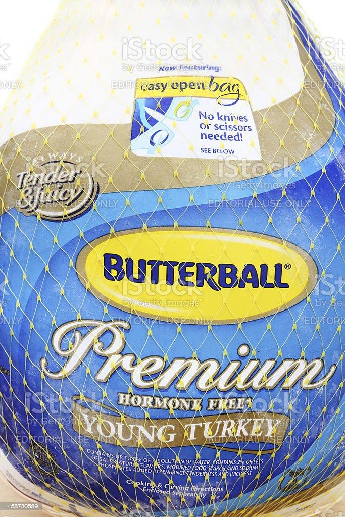 Butterball Turkey royalty-free stock photo