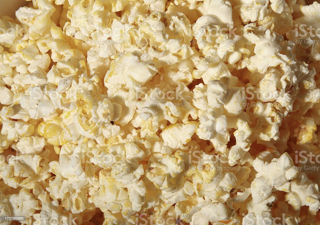 Buttered Popcorn royalty-free stock photo