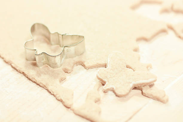 butterfly cookie-cutter form stock photo
