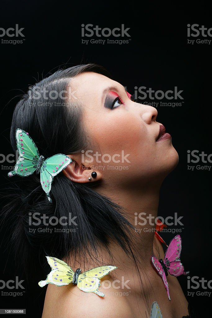 Butterfly dreams royalty-free stock photo