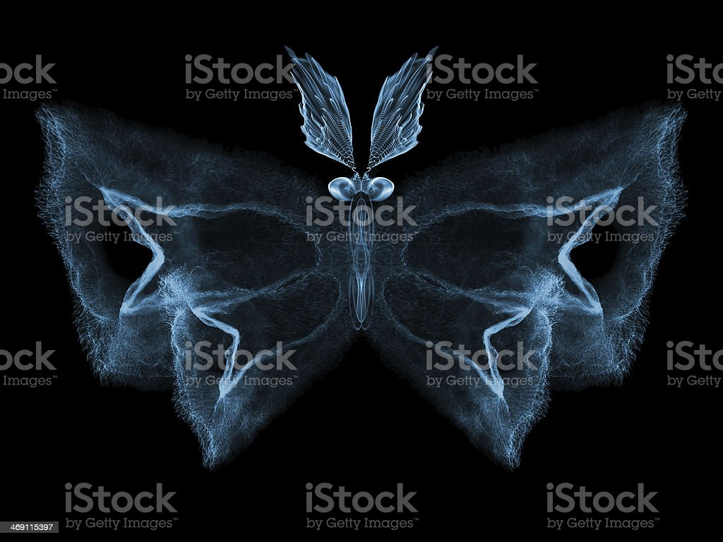 Butterfly Elegance royalty-free stock photo