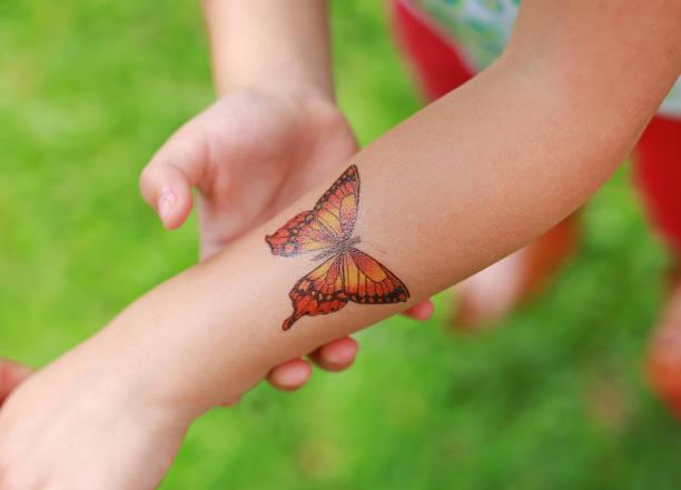 Butterfly sticker on child hand dress up tattoos picture id825416972?b=1&k=6&m=825416972&s=612x612&w=0&h=3il4r1vspznnwmzqs7f7vvomhob ta23fwgfjeqoojm=