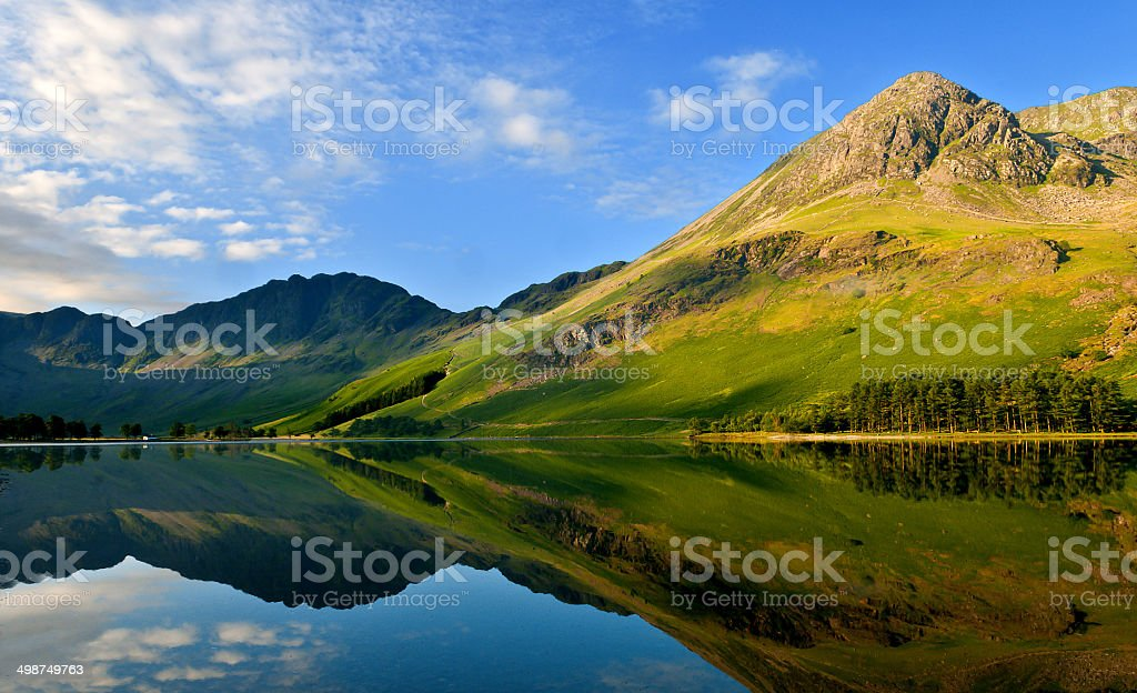 Buttermere May18 stock photo