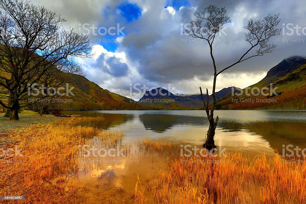 Buttermere stock photo