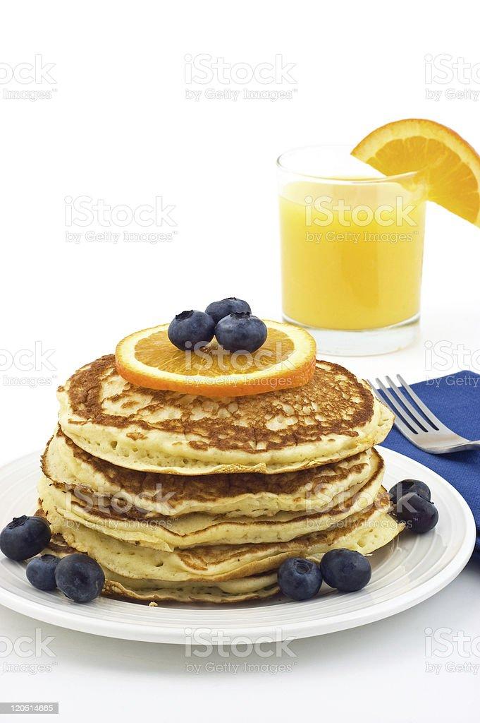 Buttermilk pancakes royalty-free stock photo