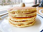 istock Buttermilk pancakes 1301498649