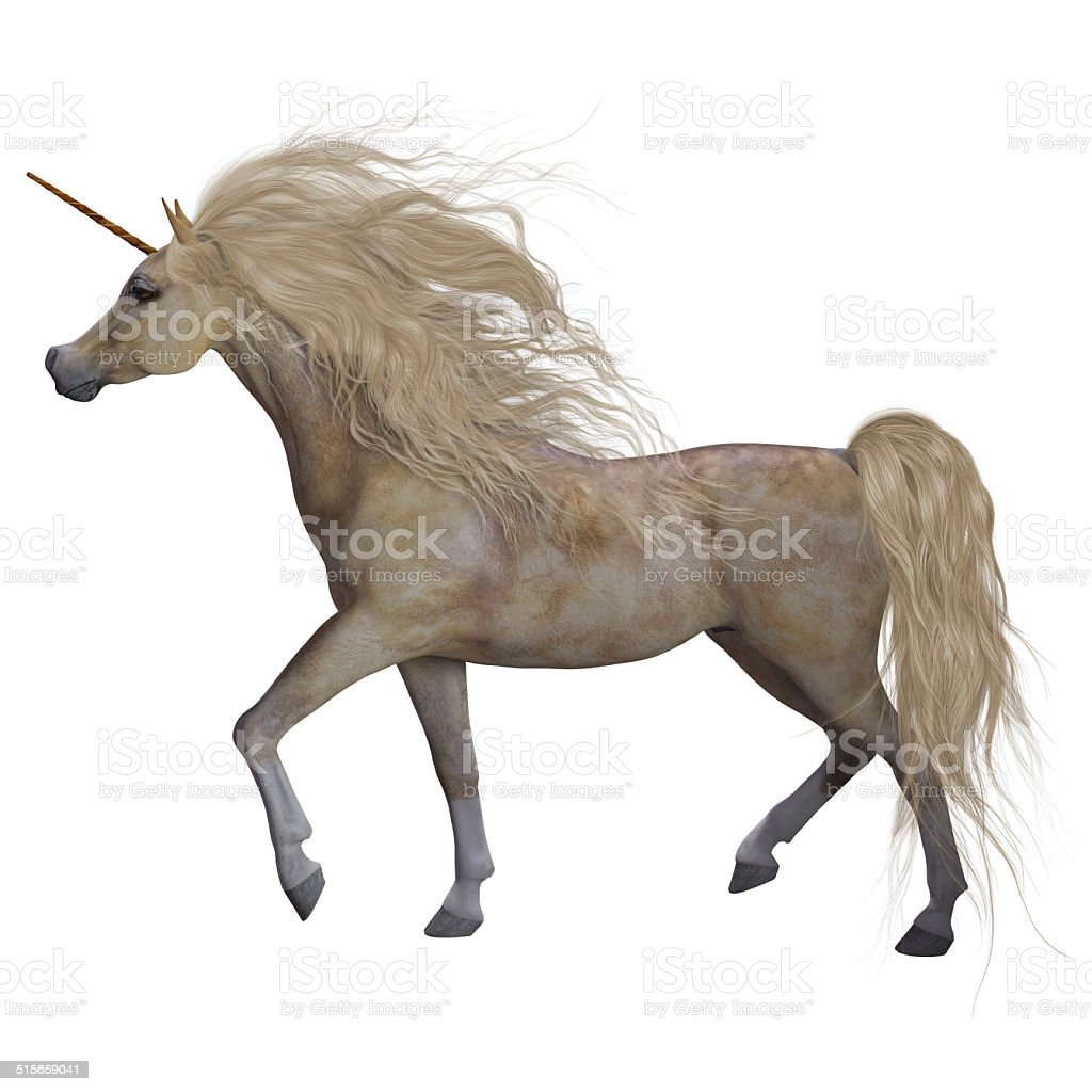 Buttermilk Unicorn stock photo