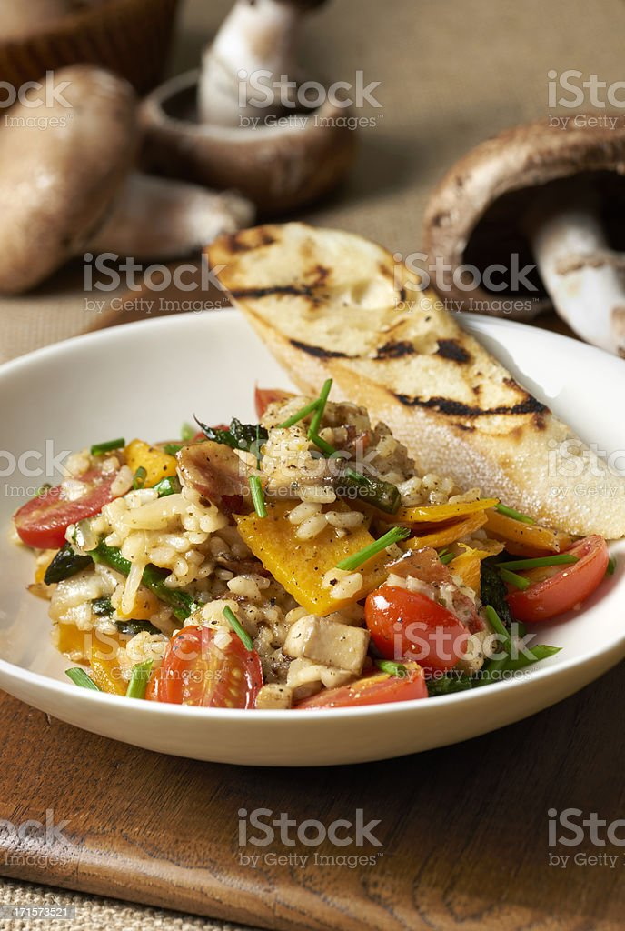Butternut Squash Risotto royalty-free stock photo