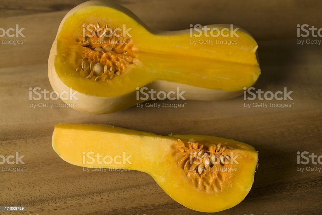 Butternut Squashes royalty-free stock photo