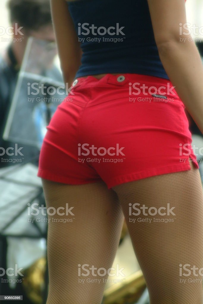 Buttock stock photo
