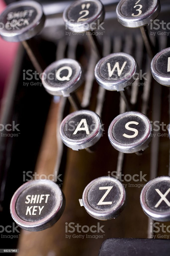 Button A royalty-free stock photo