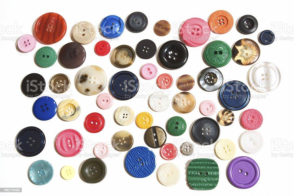 Button Array royalty-free stock photo