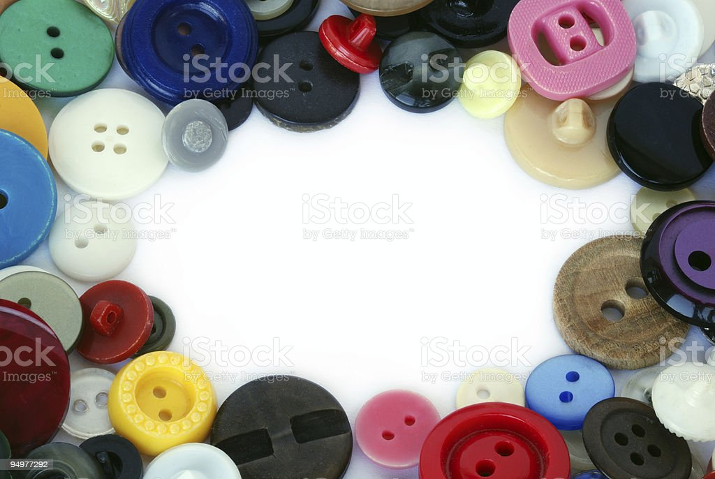 button frame royalty-free stock photo