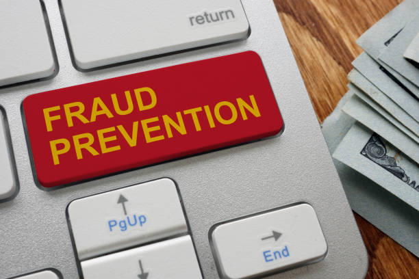 Button fraud prevention on the keyboard. Button fraud prevention on the keyboard. identity theft stock pictures, royalty-free photos & images