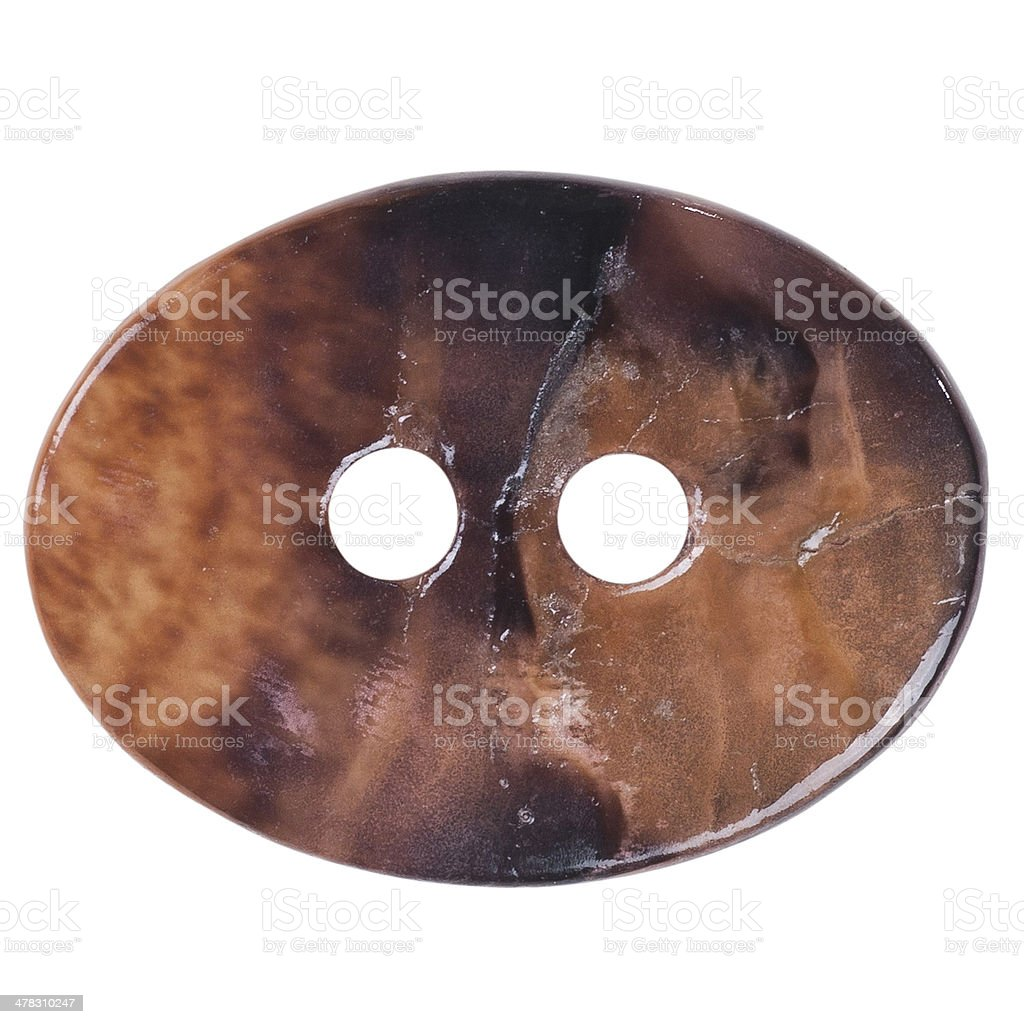 Button Isolated royalty-free stock photo