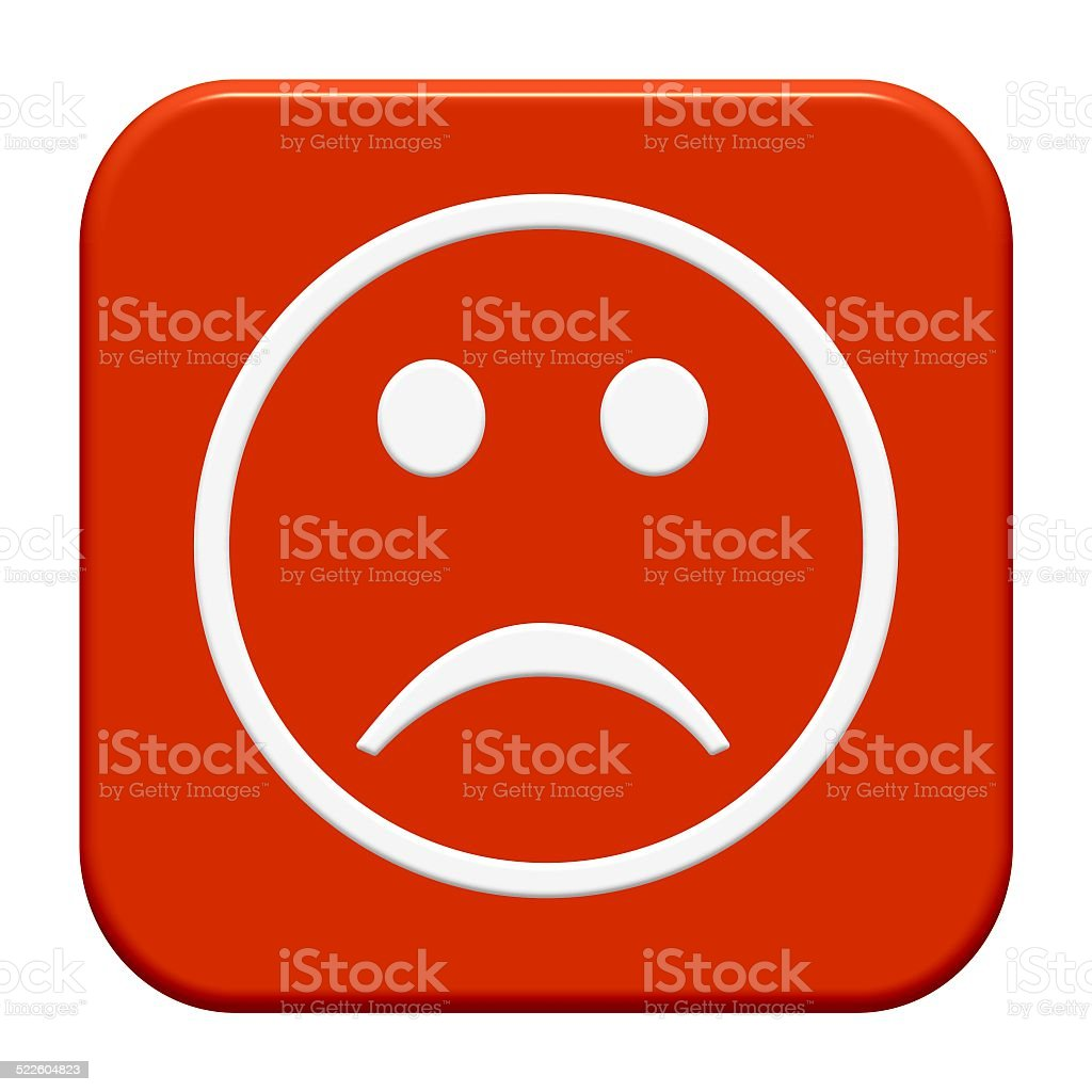 Button negative stock photo