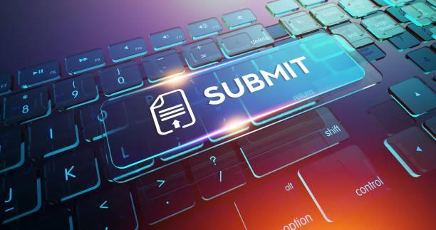 submit button on computer keyboard - wyślij zdjęcia i obrazy z banku zdjęć