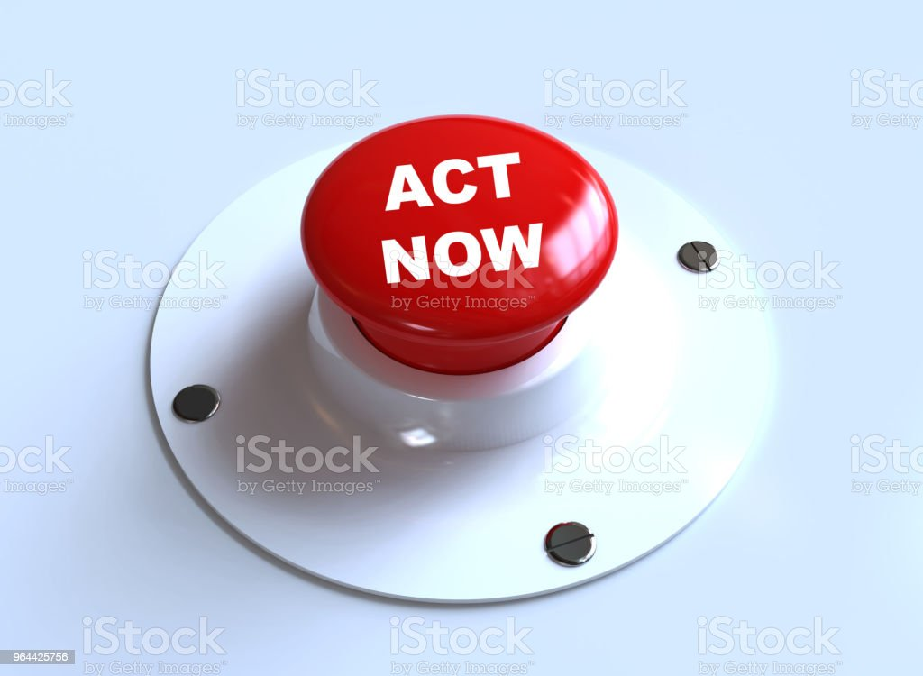 ACT NOW button - Royalty-free Acting - Performance Stock Photo