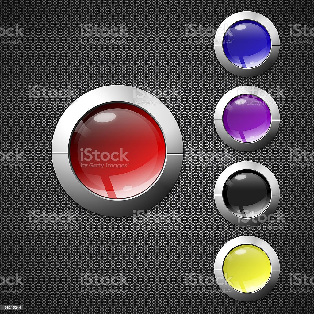 button royalty-free stock photo