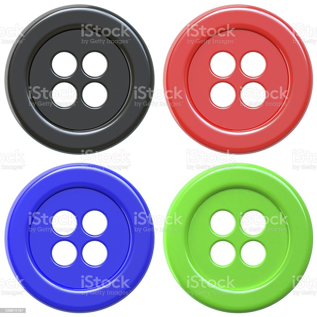 button - sewing item royalty-free stock photo