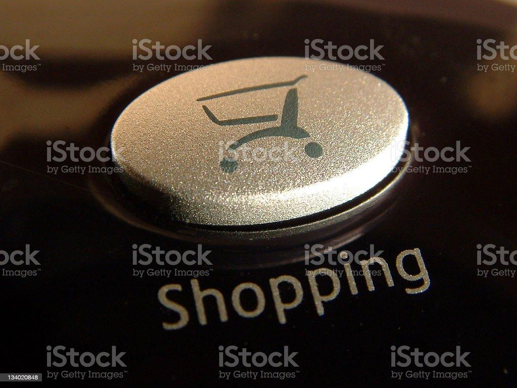 Button - Shopping royalty-free stock photo