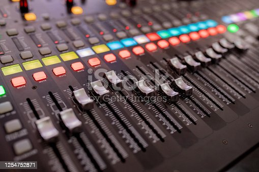 buttons equipment for sound mixer control, equipment for sound mixer control, electornic device.