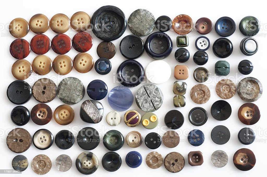 Buttons for clothes royalty-free stock photo