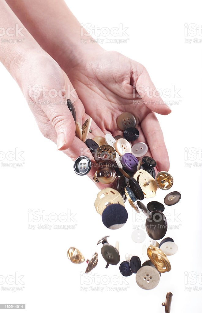 Buttons galore royalty-free stock photo