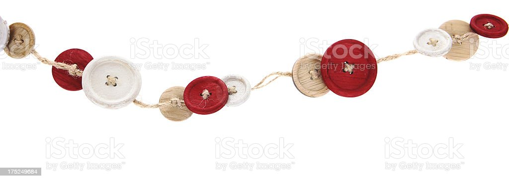 Buttons on a String royalty-free stock photo