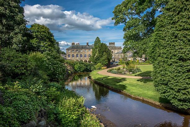 Buxton Gardens stock photo