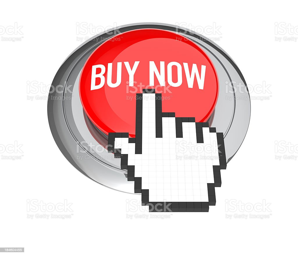 Buy Now Button royalty-free stock photo