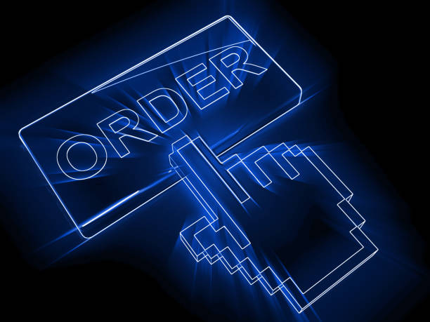 Acheter en ligne sur internet achat bouton de site e-commerce - Photo