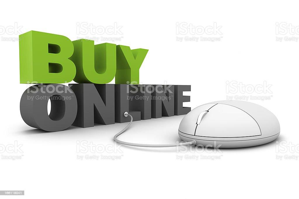 Buy Online royalty-free stock photo