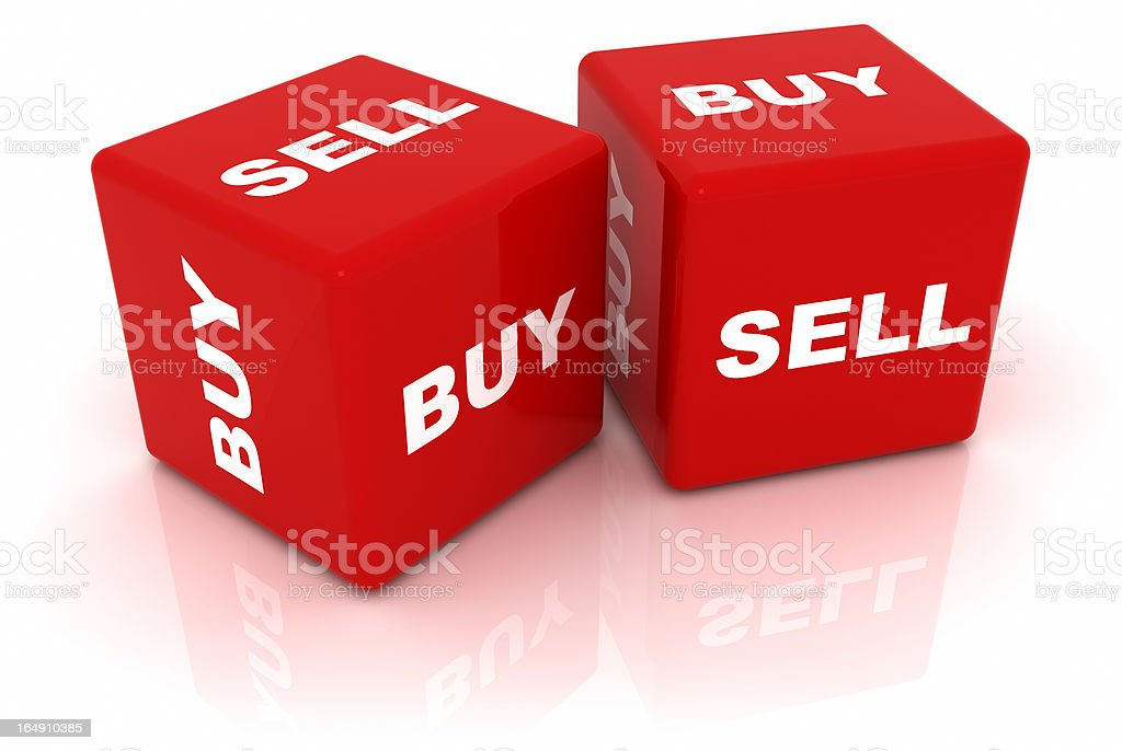 Buy or Sell royalty-free stock photo