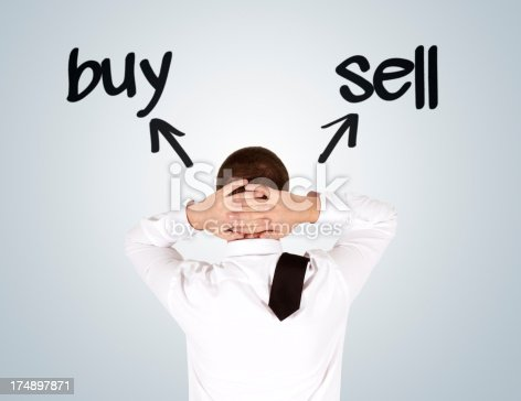 istock Buy or Sell 174897871