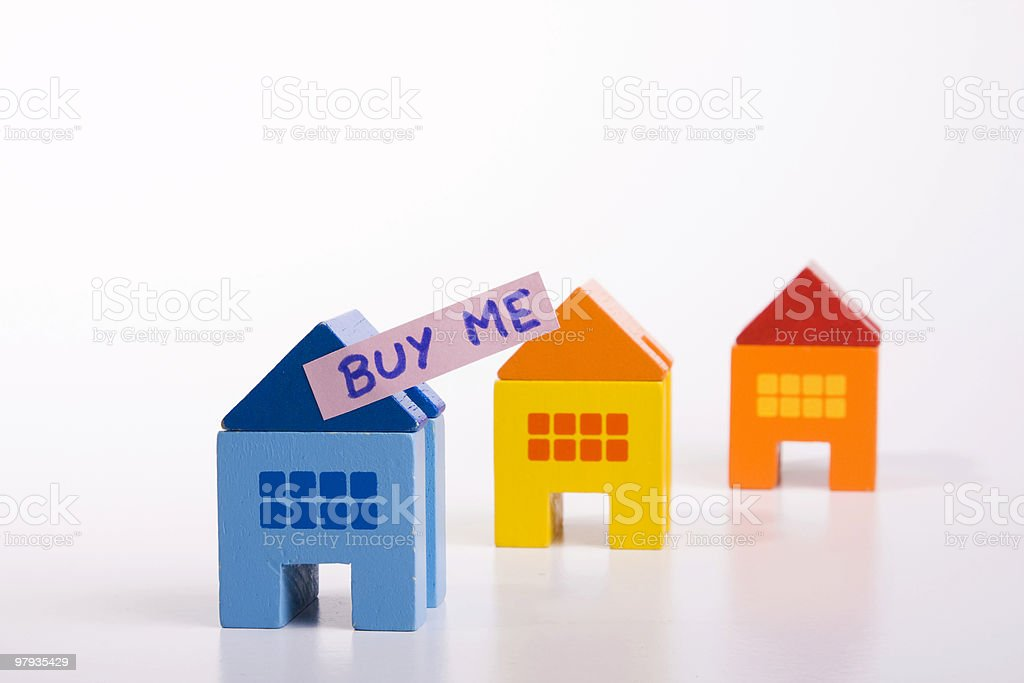 Buy this house royalty-free stock photo