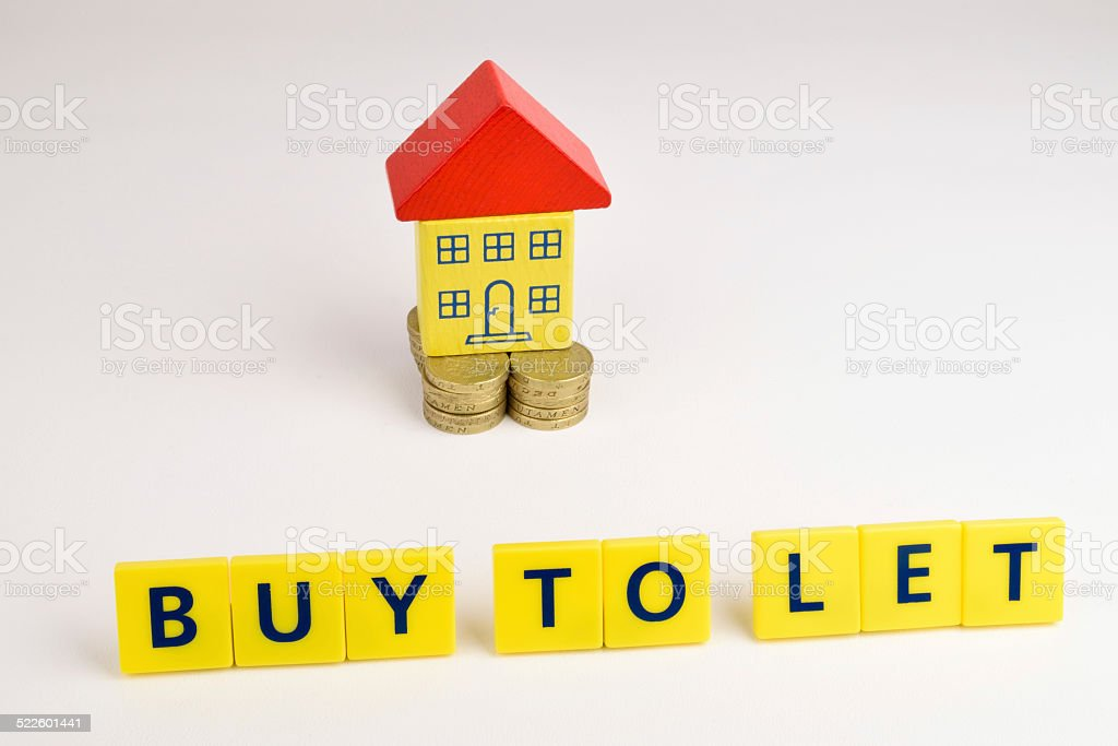 Buy To Let stock photo