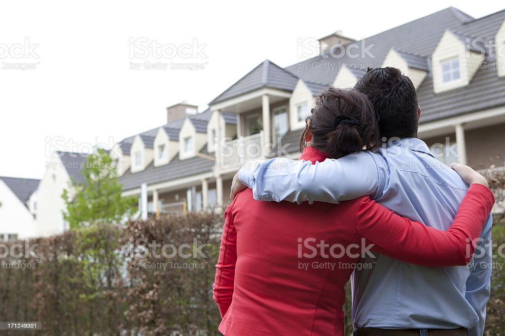 buying a house stock photo