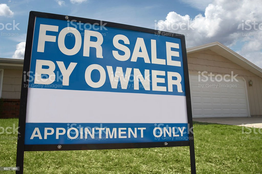 Buying a New Home stock photo