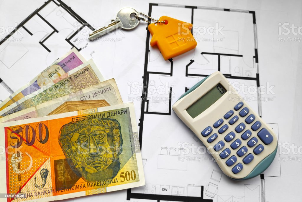 Buying a property in North Macedonia stock photo