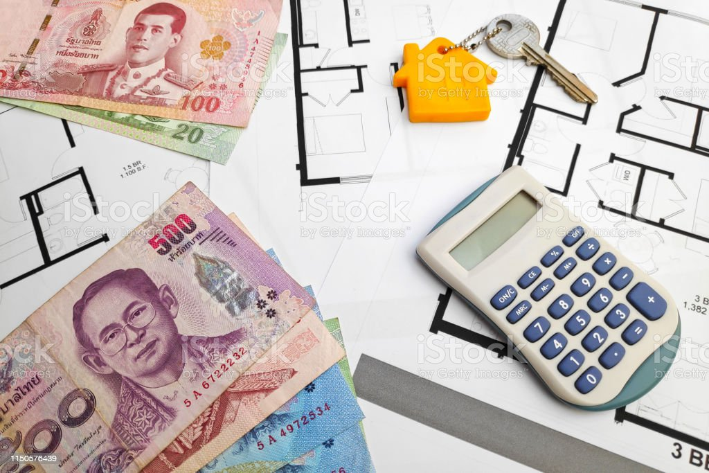 Buying a property in Thailand stock photo